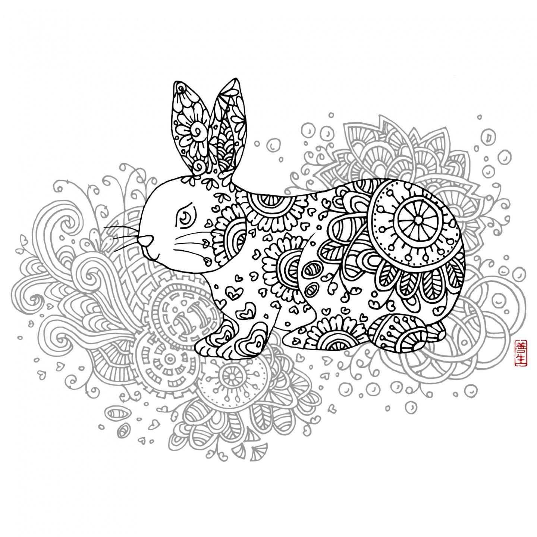Chinese zodiac : RABBIT