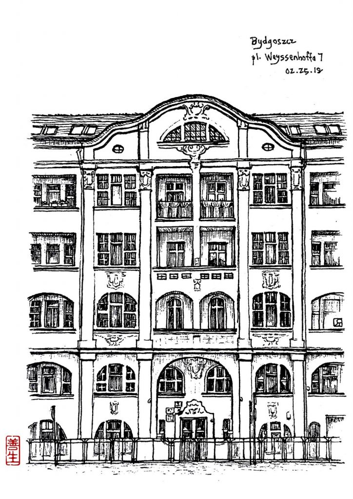 digital: Building – Bydgoszcz pl. Weyssenhoffa N°7