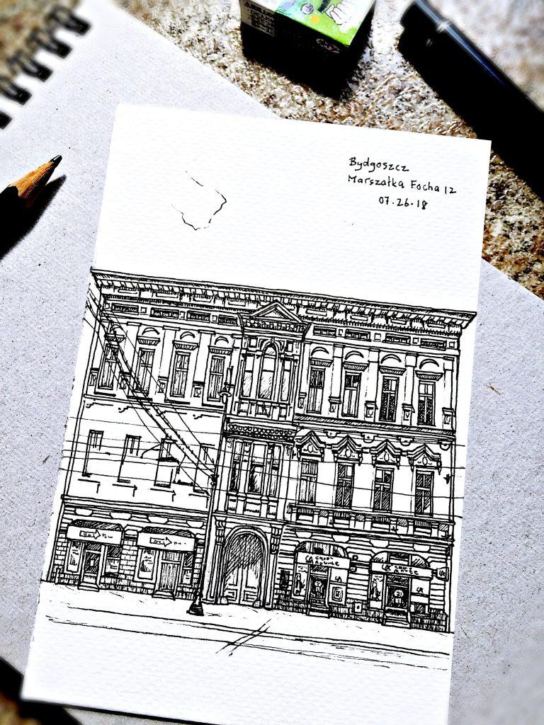 original: Building – Bydgoszcz Marszałka Focha N°12