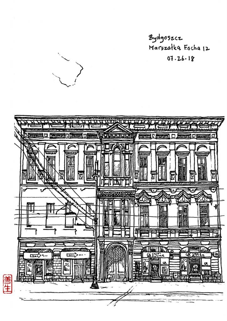 digital: Building – Bydgoszcz Marszałka Focha N°12