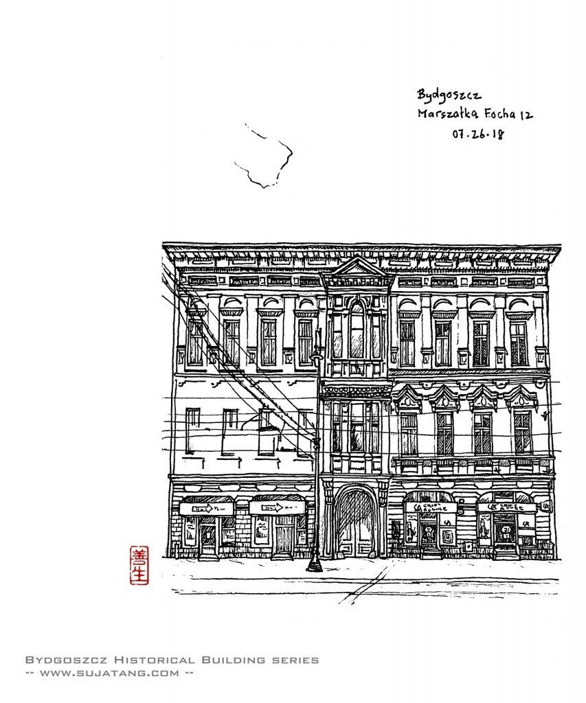 Bydgoszcz Historical Building Series #4. Marszałka Focha N°12