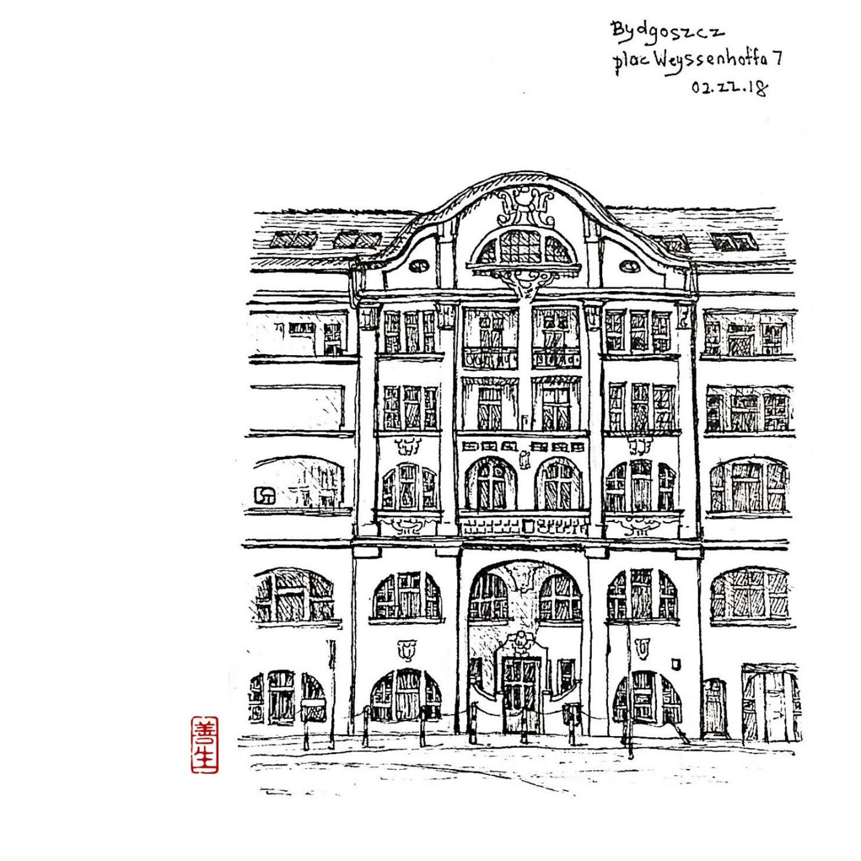 Building – Bydgoszcz pl. Weyssenhoffa N°7